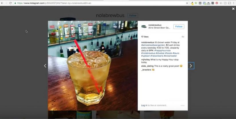 embed instagram post wordpress get online nola