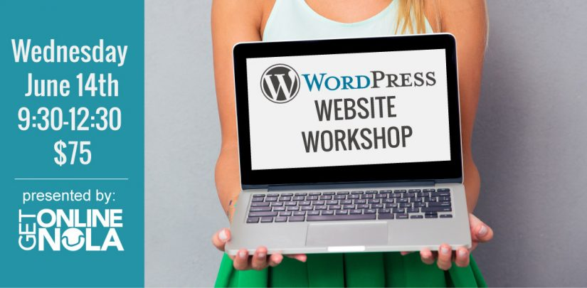 wordpress workshop | website workshop | wordpress new orleans | learn wordpress | website class